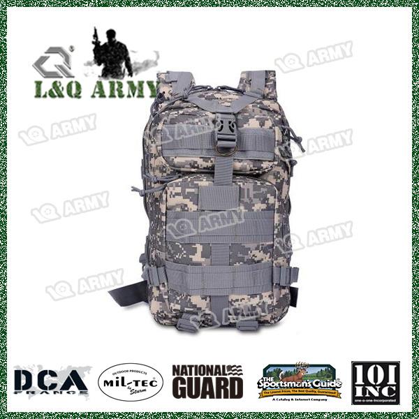 Hiking Camping Rucksack Backpack Army Military Tactical Trekking Bag Camo 30L