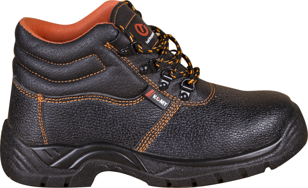 Quality Oil Leather Safety Shoes