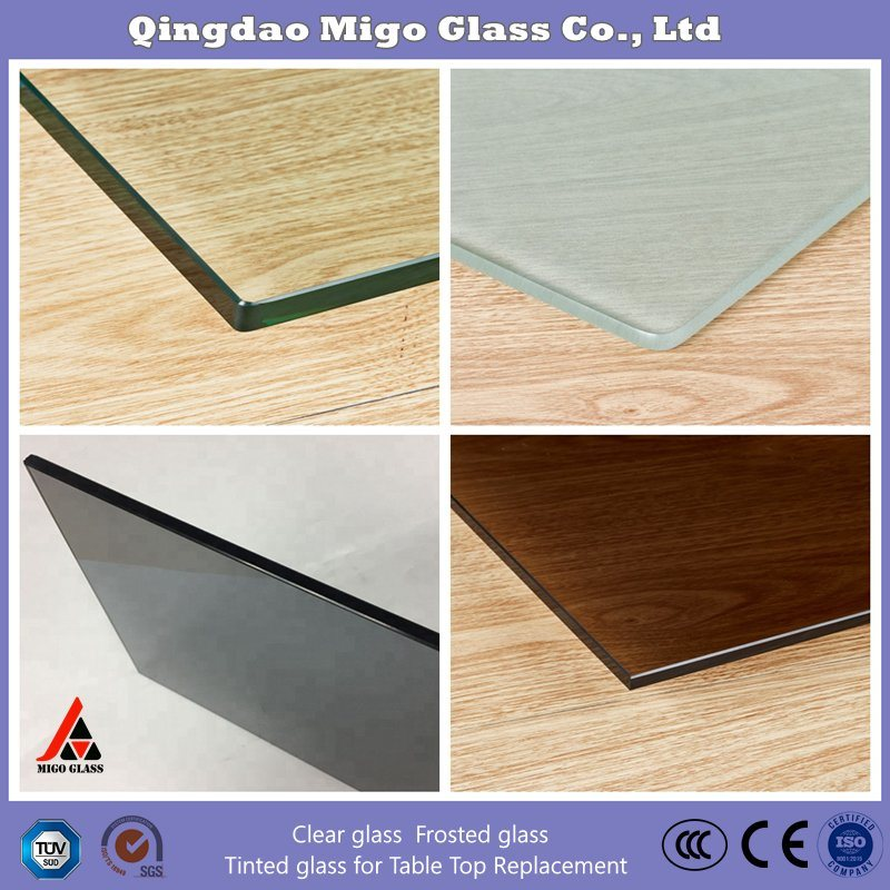China Rectangle Glass Table Top Custom Clear Tempered 3 8 Inch Thick Glass With Polished Edge Radius Corner For Dining Table Coffee Table Home And Office Photos Pictures Made In China Com