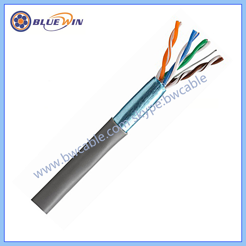China 26AWG FTP Cat5e Cable 4 Pair - China Cat5e Network Cable ...