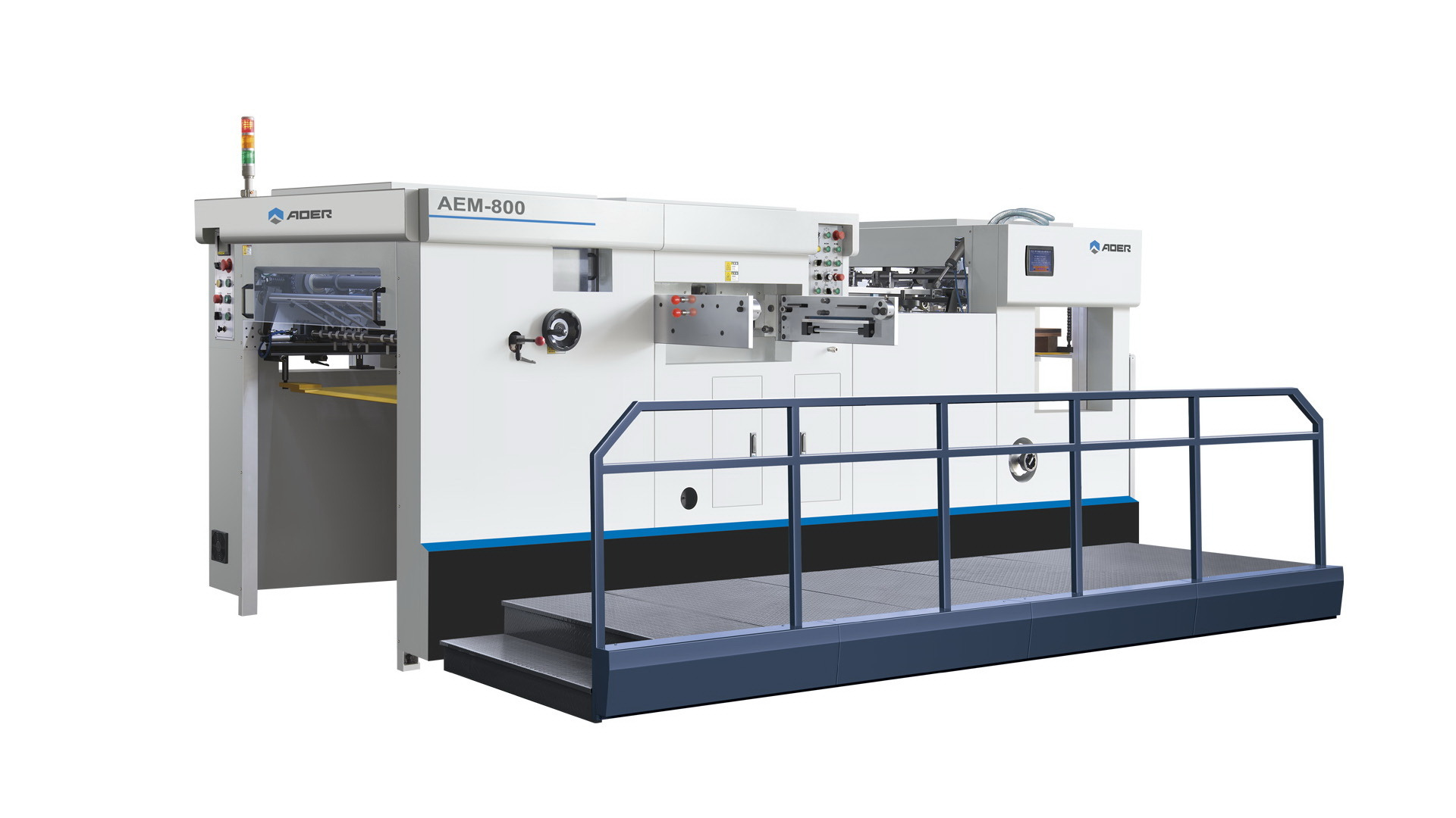 AEM-800 Corrugated Paper Cardboard Automatic Die Cutting Machine