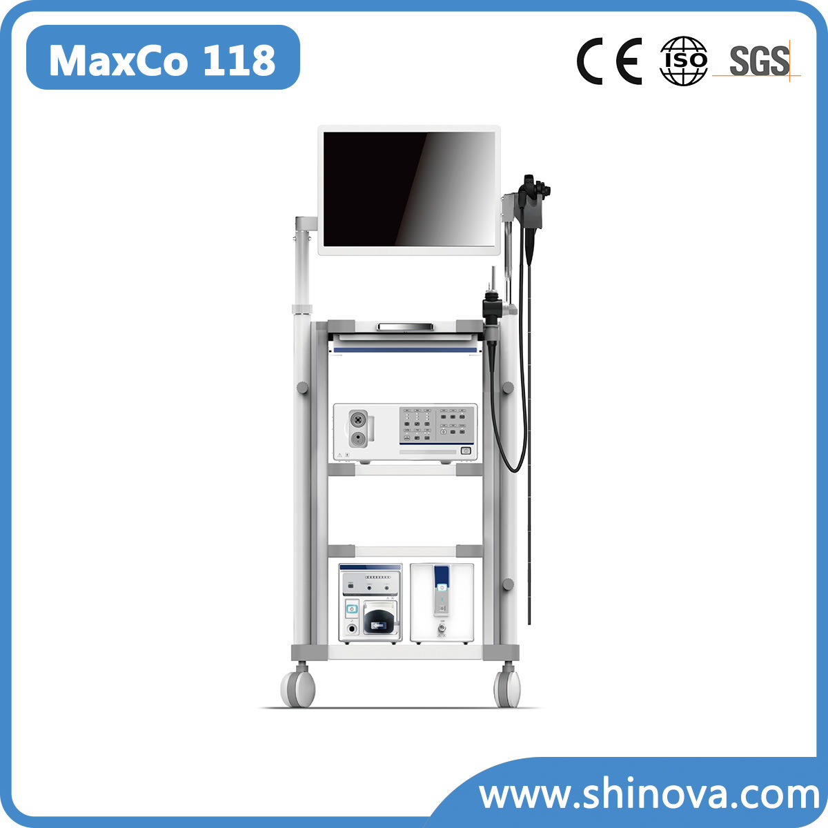 Video Colonoscope Endoscope (Maxco 118)
