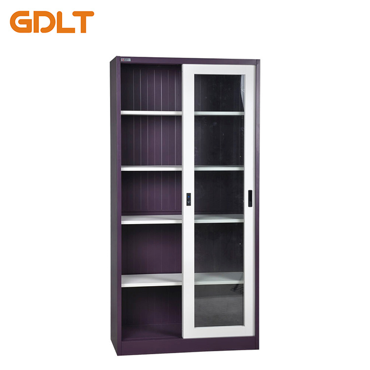 China Glass Sliding Door 4 Layers Of Plate Steel Cabinet Photos