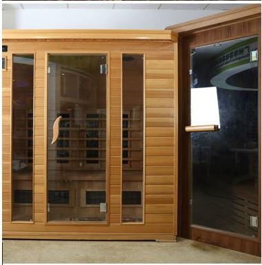 China New Design Infrared Sauna and Steam Combined Room, Sauna Room ...