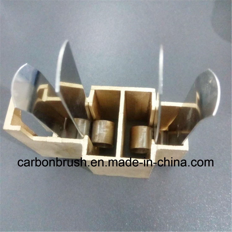 [Hot Item] Produce High Quality Copper Carbon Brush Holder for Carbon Brush