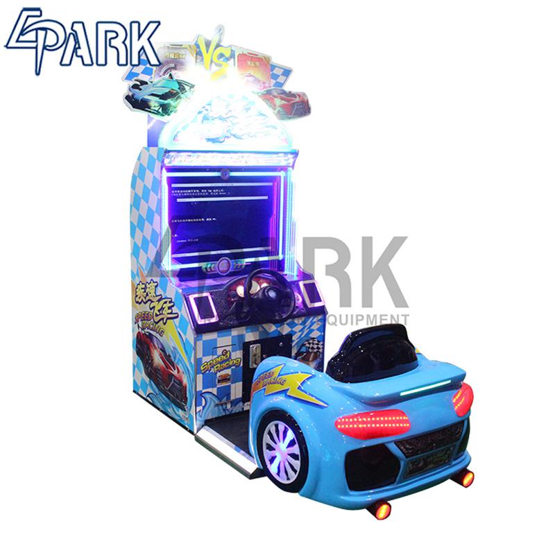 [Hot Item] Epark Speed Racing Car Simulator Camera Function Card System  Reality Feeling Driving Game Machine