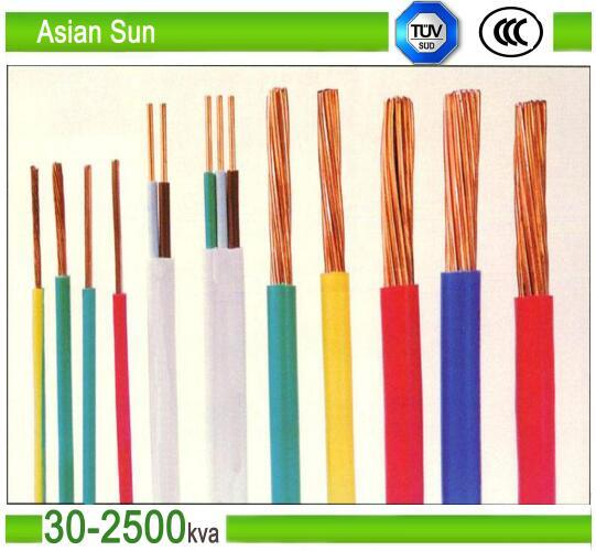 450/700V Thw 12AWG PVC XLPE Insulated Electric Cable