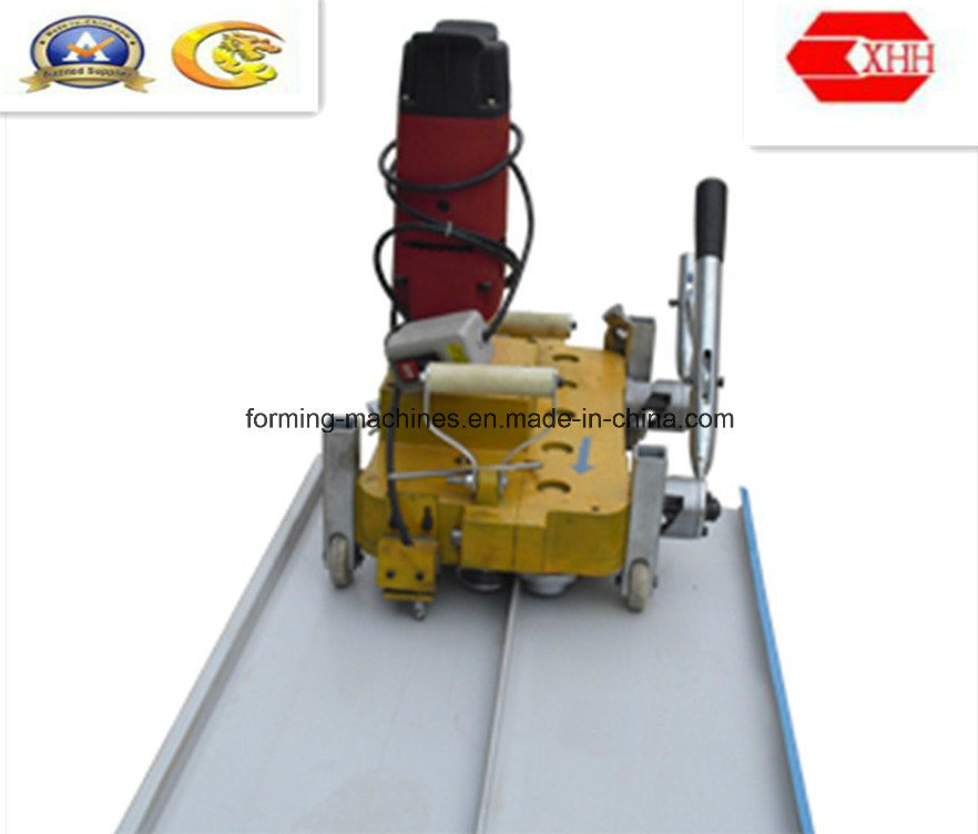 China Electric Seaming Machine For Standing Seam Roofing