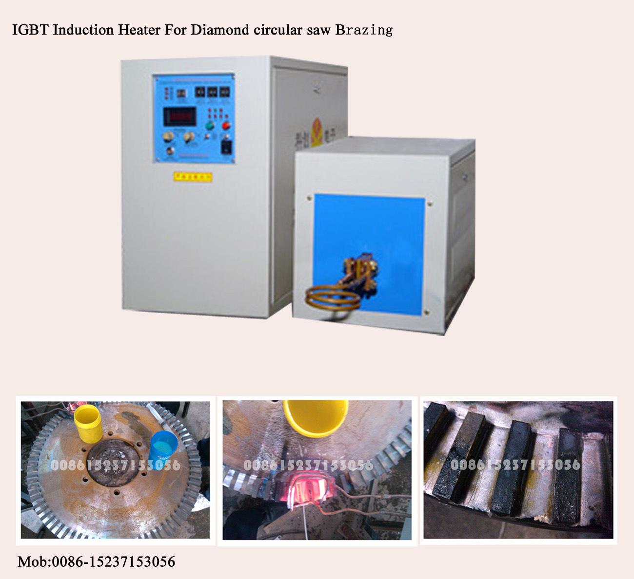 China Igbt Induction Heater For Diamond Circular Saw Brazing Furnace Circuit Heating Iii With Welding