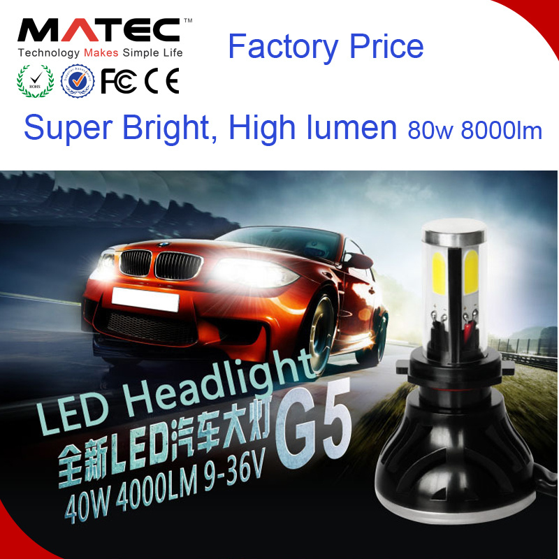 Guangzhou Universal Headlight LED Auto Part for Cars H1 H3 5202 pictures & photos
