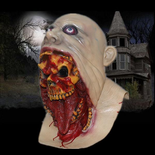 [Hot Item] Blurp Charlie Latex Zombie Mask \u0026 Halloween Mask \u0026 Scary Party  Mask \u0026 Latex Mask for Party