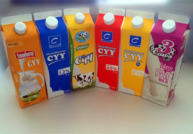 1000ml 3 Layer Gable Top Carton pictures & photos