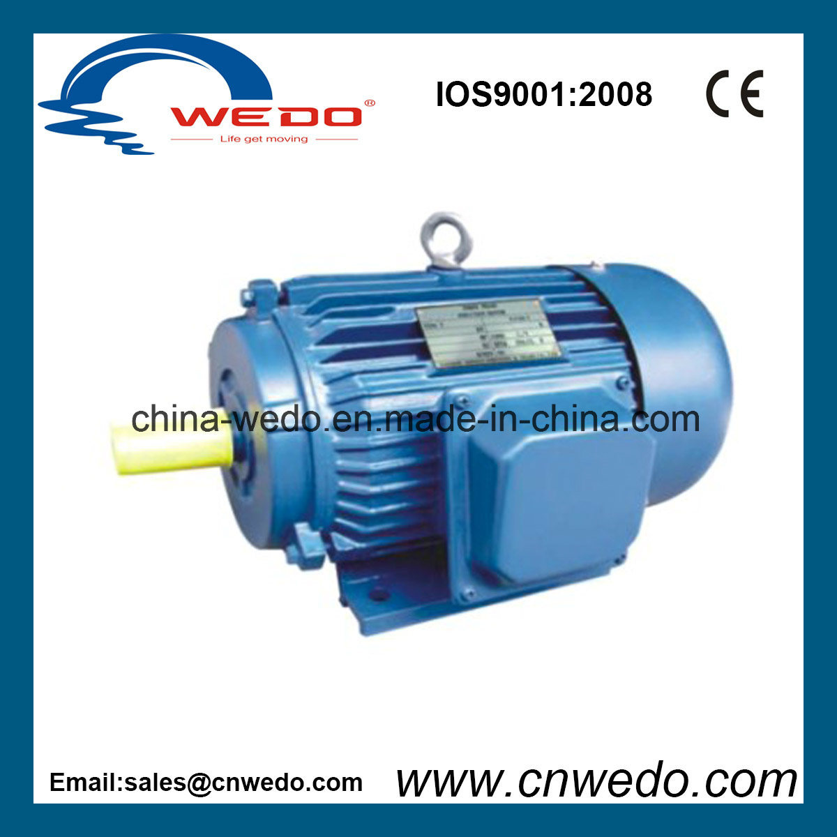 China Y Series Three-Phase Induction Motor (0.37-315KW) Photos ...