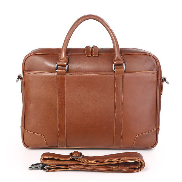 6eb58d8831d25c Factotry Price Brown Mens Designer Bags Leather Laptop Briefcase