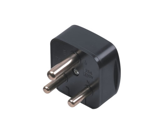 (100301) 16A 3 Pin South Africa Power Electrical Plug Top