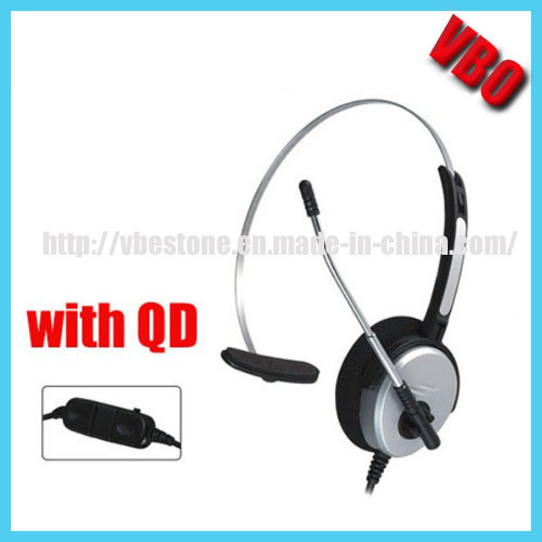 8a4a9fbd2e5 Professional Monaural Noise Cancelling Call Center Headset with USB  Connector/2.5mm/3.5mm/Rj