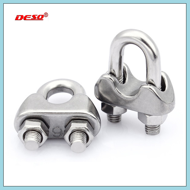 China Galvanized DIN741 Wire Rope Cable Clip - China Cable Clip ...