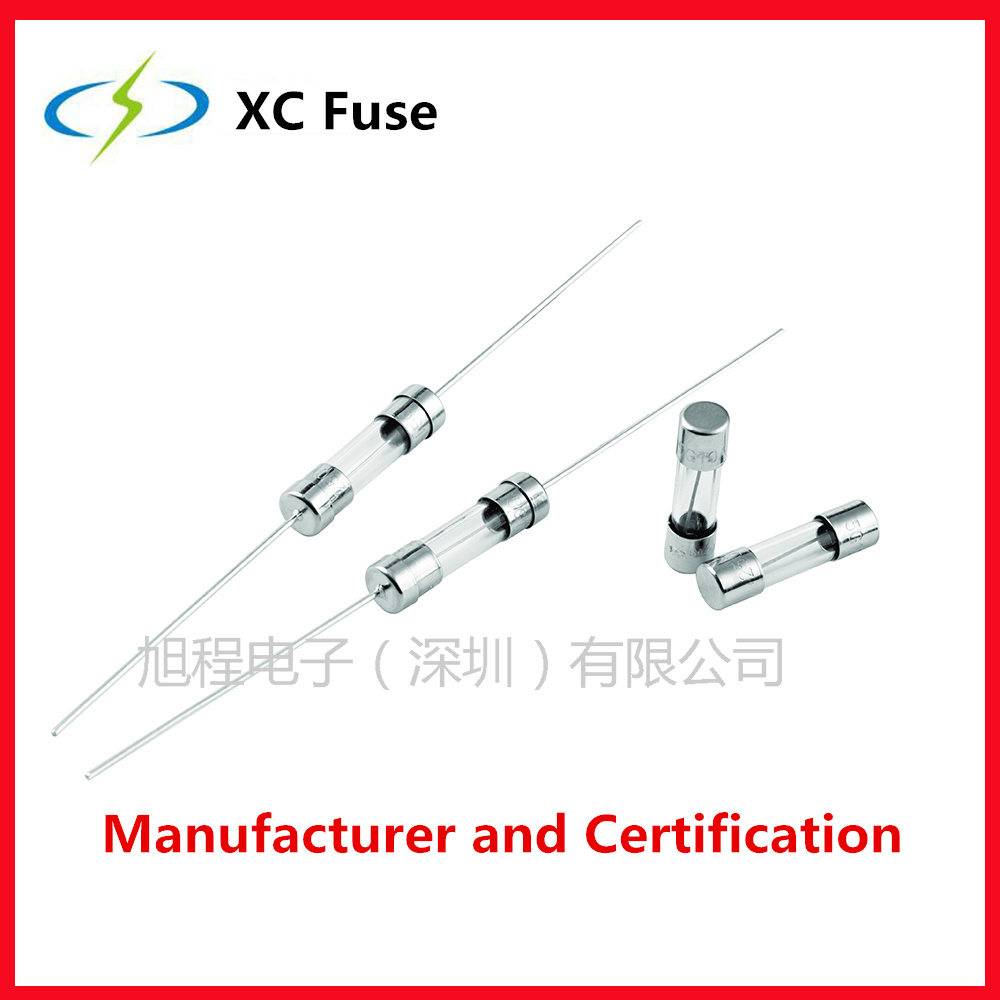 China Xc Fuse 520 Glsss Quick Acting With Ul Pse Certification Box 5220 125v