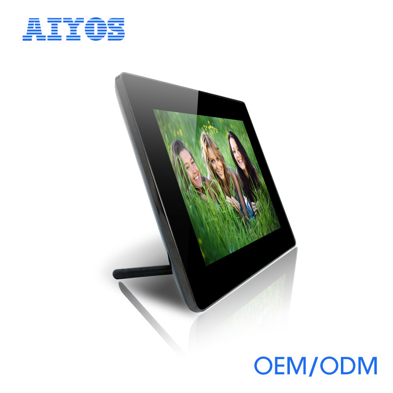 China Portable Mirror Aiyos Ips Digital Frame With Internal Battery