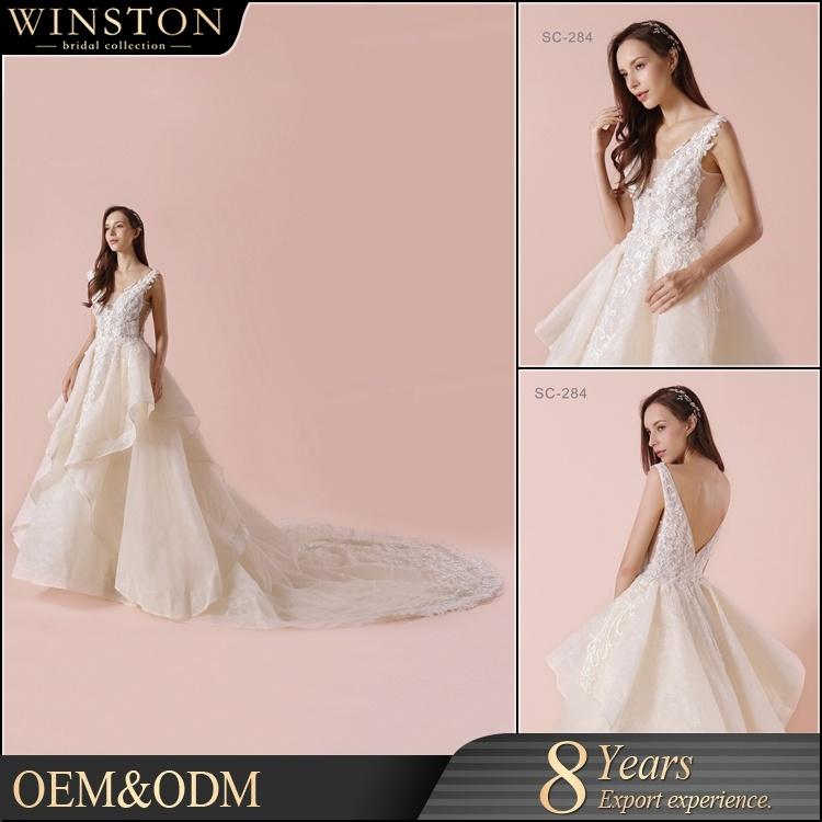 f007791b5cf China 2018 New Design Custom Made Korean Style Wedding Dress - China Dress
