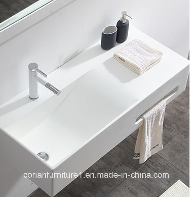 Elegant Design Corian Solid Surface Bathroom Basin