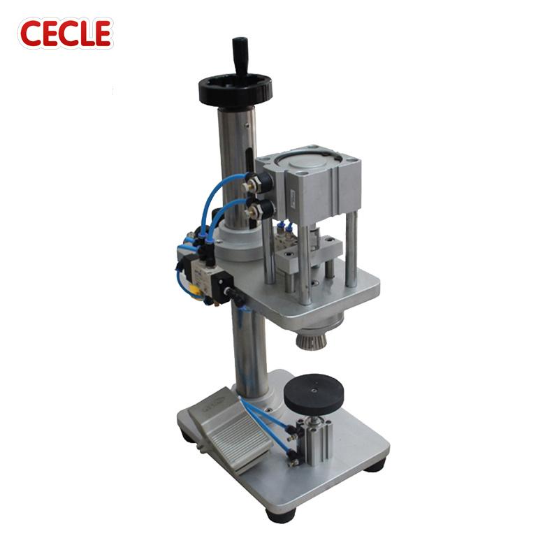 China Dk 50 Ce Certification Capping Machine For Aluminum Screw Caps
