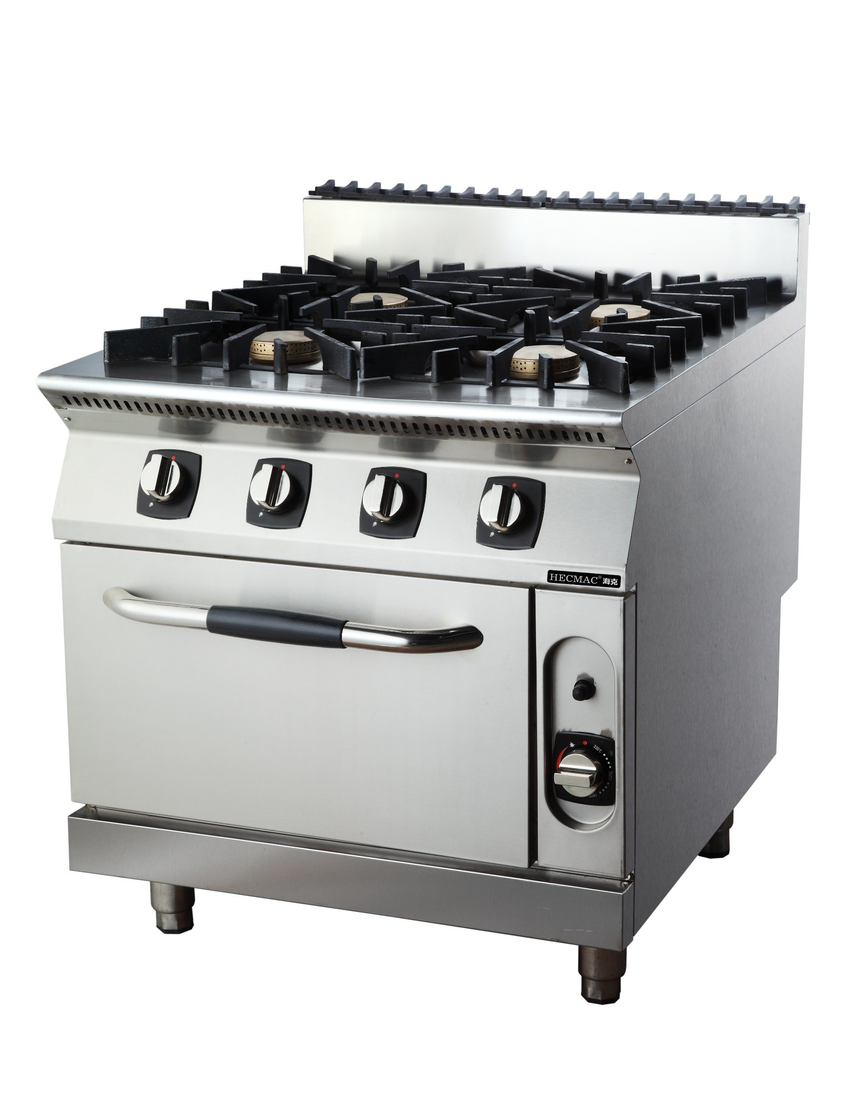 China Commercial Four Burner Gas Oven