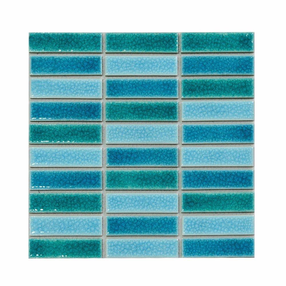 China 300x300mm Floor Tile Mosaic Patternceramic Mosaic Tileshaped