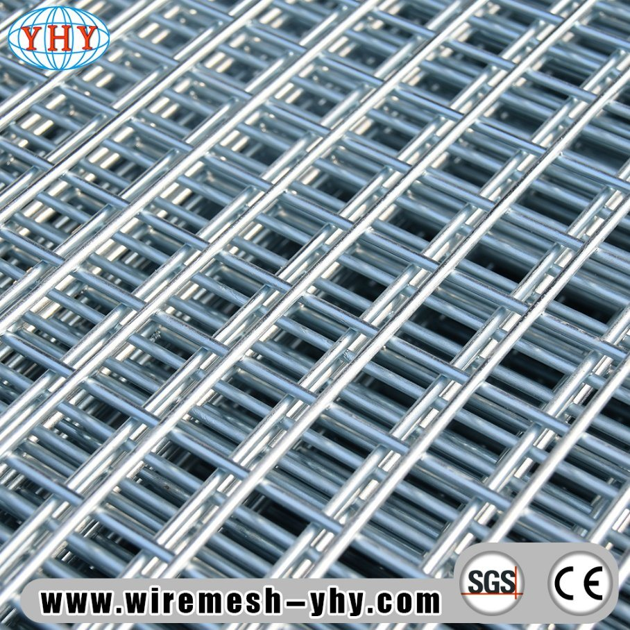 China 2′′hole Opening 2feet X 4feet Galvanized Welded Mesh Panel ...