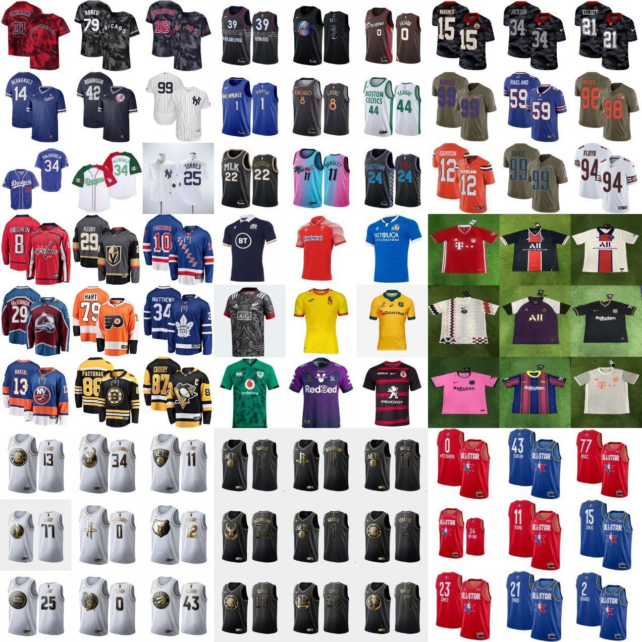 [Hot Item] Wholesale Cheap Football Basketball Baseball Hockey Rugby Soccer Sport Shirts Team Jerseys