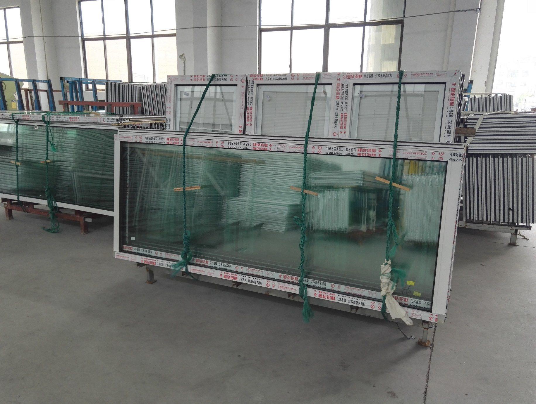 China Large Size Double Glazed Aluminium Sliding Door Photos