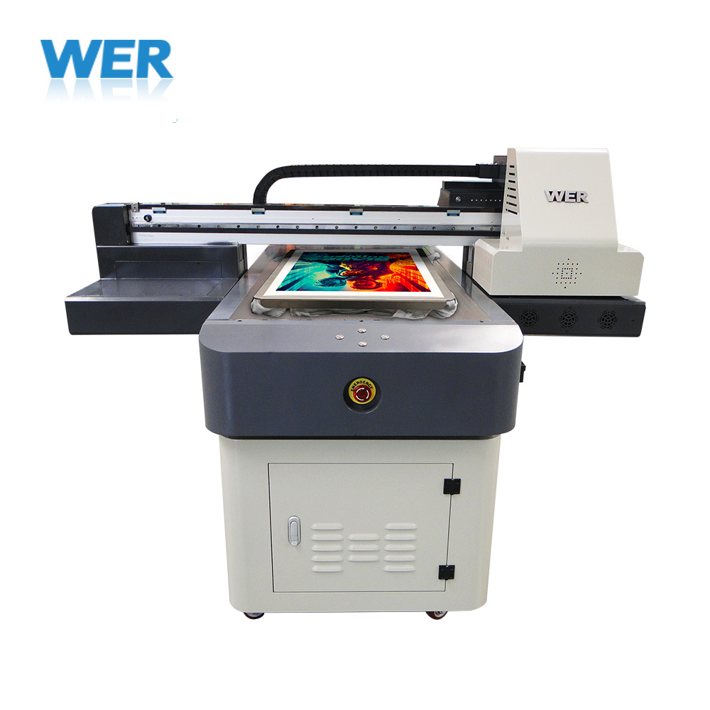 Wer 6090 DTG Cloth Inkjet Printing Machine Direct to T-Shirt Printer pictures & photos