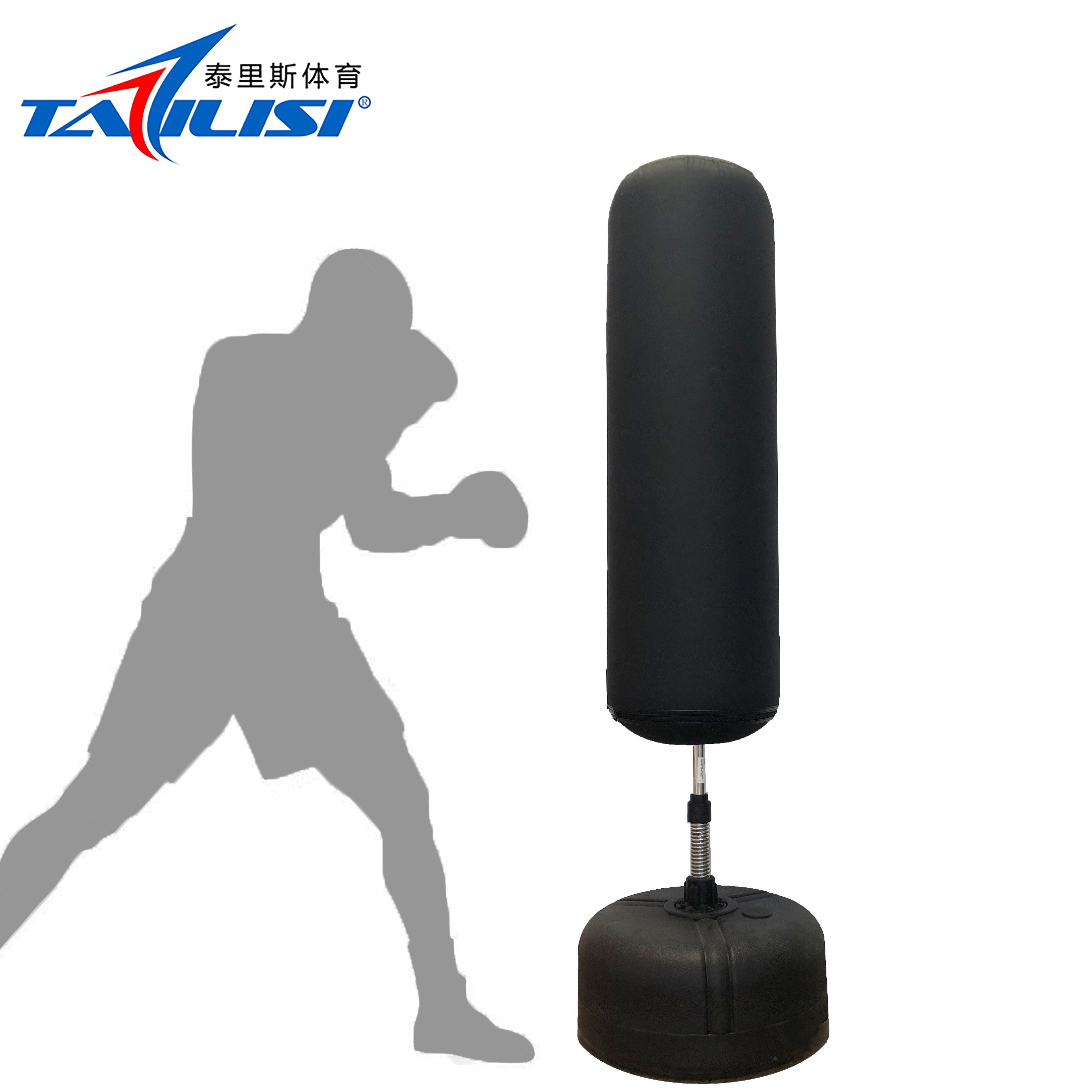 affordable price new authentic amazing price [Hot Item] Home Gym Inflatable Kickboxing Bag with Base for Body Building