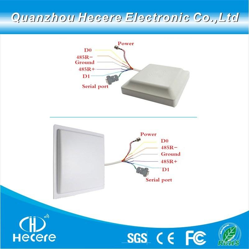 [Hot Item] Serial Port RFID Long Range UHF RFID Reader and RFID Antenna  12dBi
