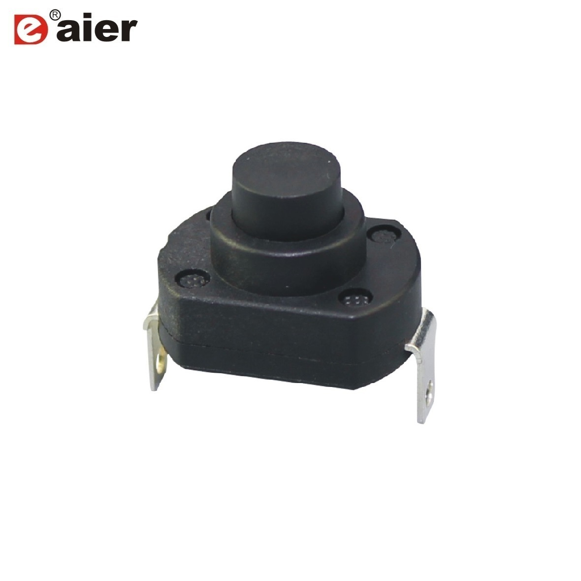 China 5A 250VAC on-off Flashlight Push Button Switches with Angled ...