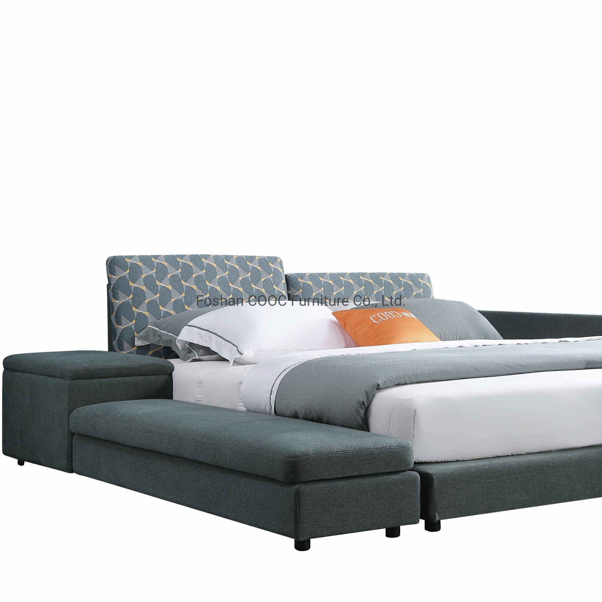 China Designer Bedroom Furniture King Size Bed With Storage Cabinet China King Bed Living Room Furniture