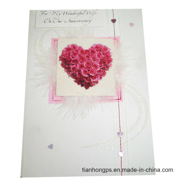 China Colorful Heart-Shaped Wedding Invitation Cards Printing ...