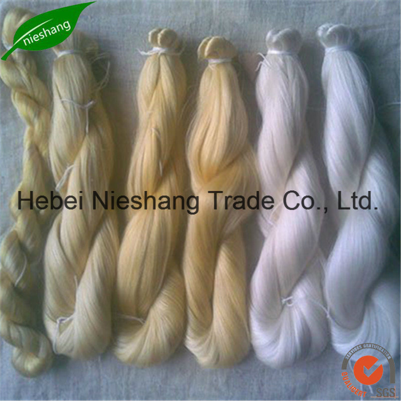 28nm-240nm 100% Spun Mulberry Silk Yarn pictures & photos