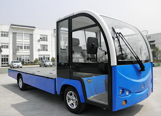 China New Small Mini Vehicle Car Cargo Goods Delivery Truck Electric