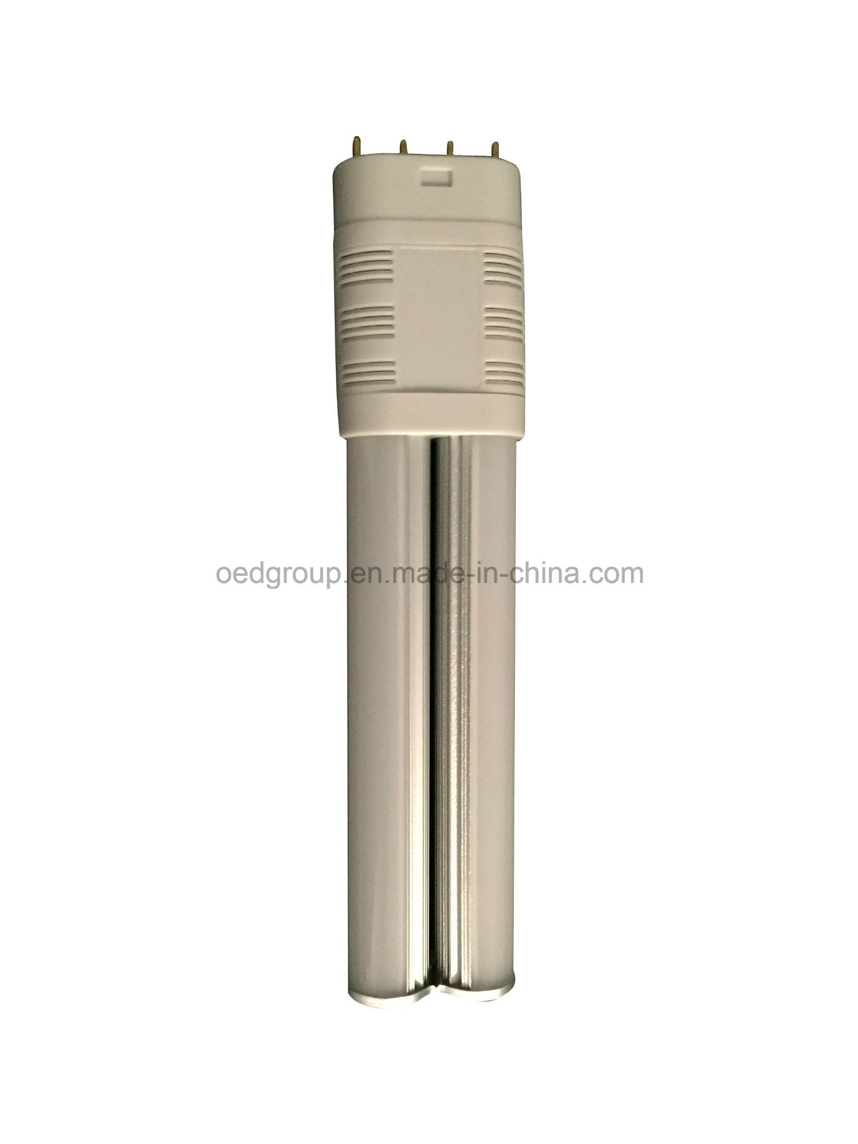 2g11 360 Degrees Double Tubes Plug Light 10W 13W 15W 4 Pin Pl Lamp 2835 SMD Replacement 2g11 LED Tube