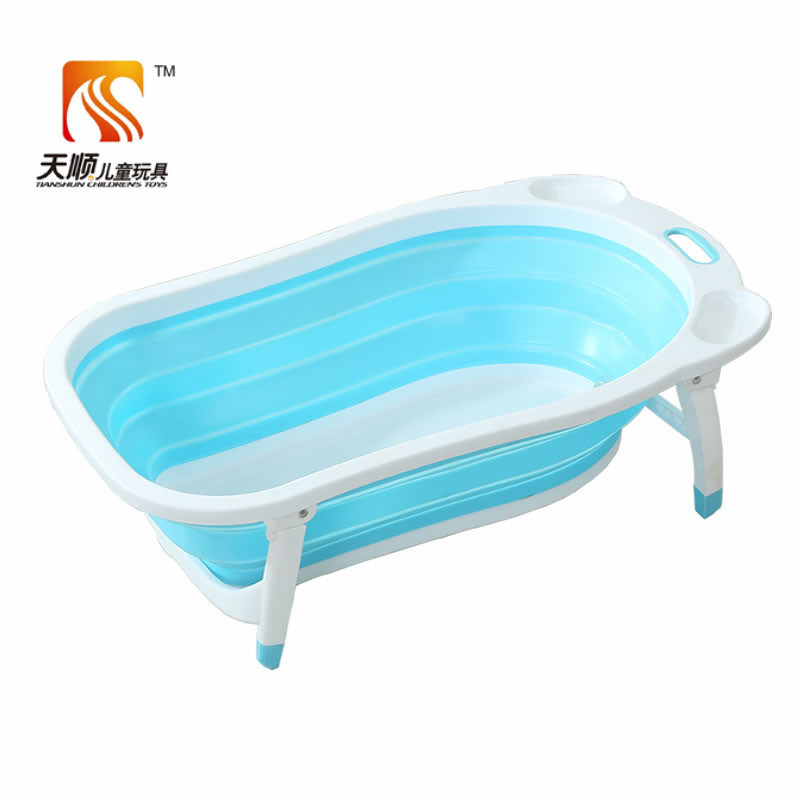China New Arrival New PP Plastic Foldable Baby Bathtub on Hot ...