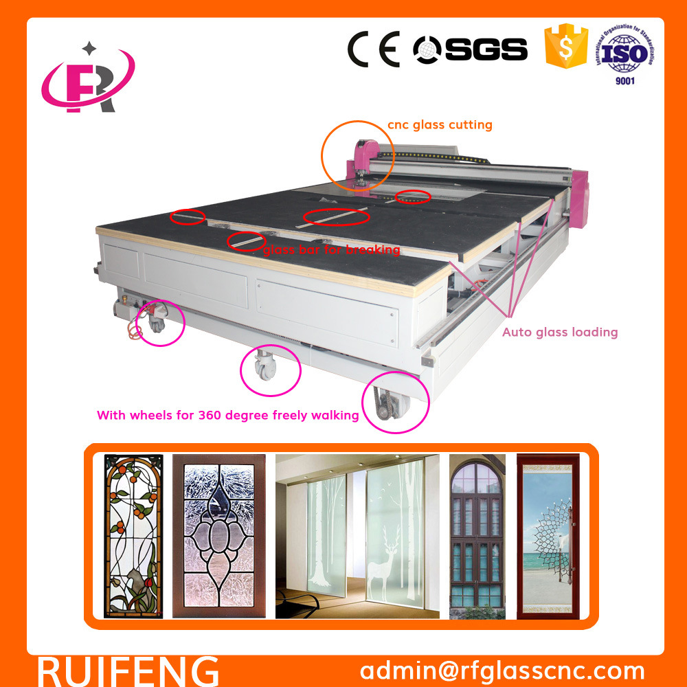 Ce Certificate Multi Functions Automatic CNC Glass Cutting Machine for Shapes