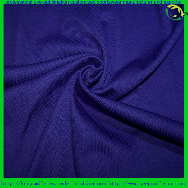 Cotton Back Textile Fabric for Polo Shirts and Shorts