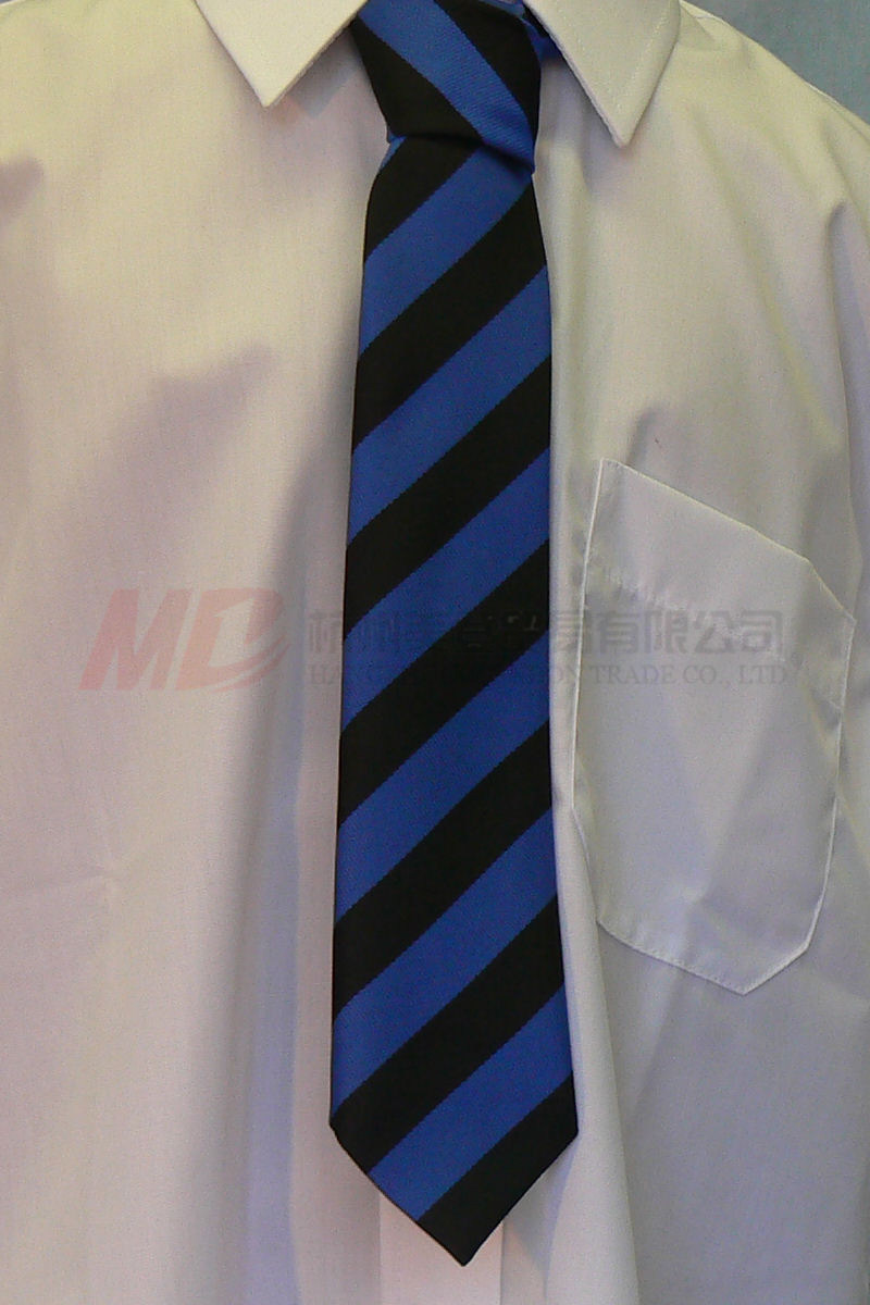 Hot Seller Graduation Necktie with Embroidety