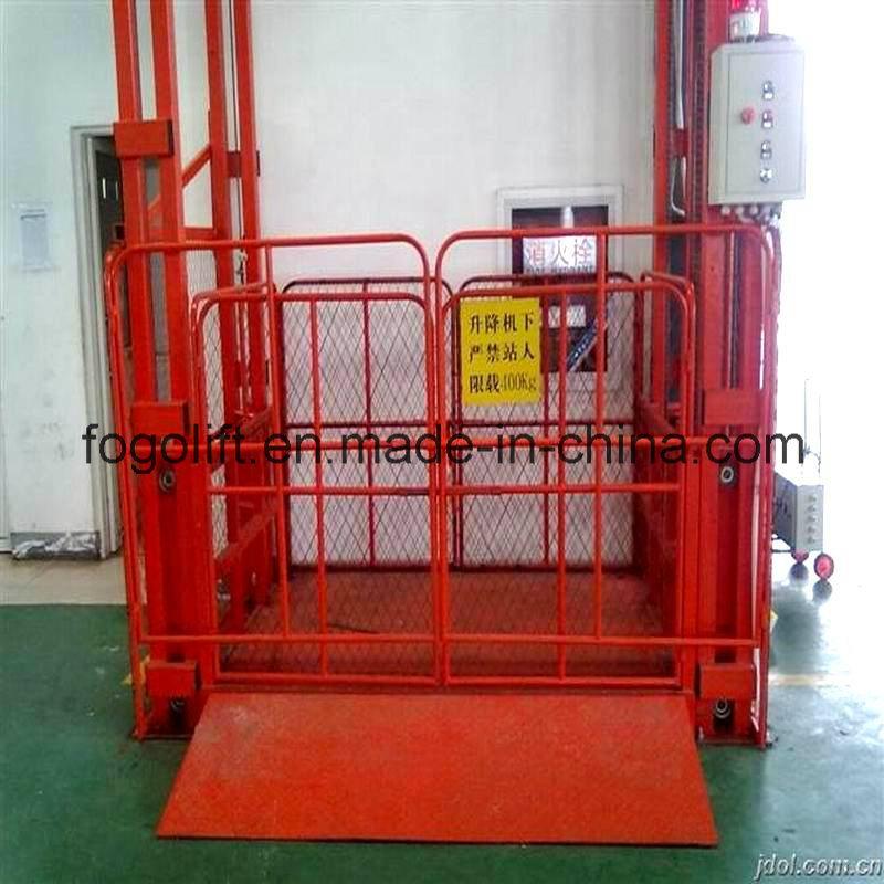 [Hot Item] Cheapest Price Vertical Cargo Lift Manual Platform Lift on
