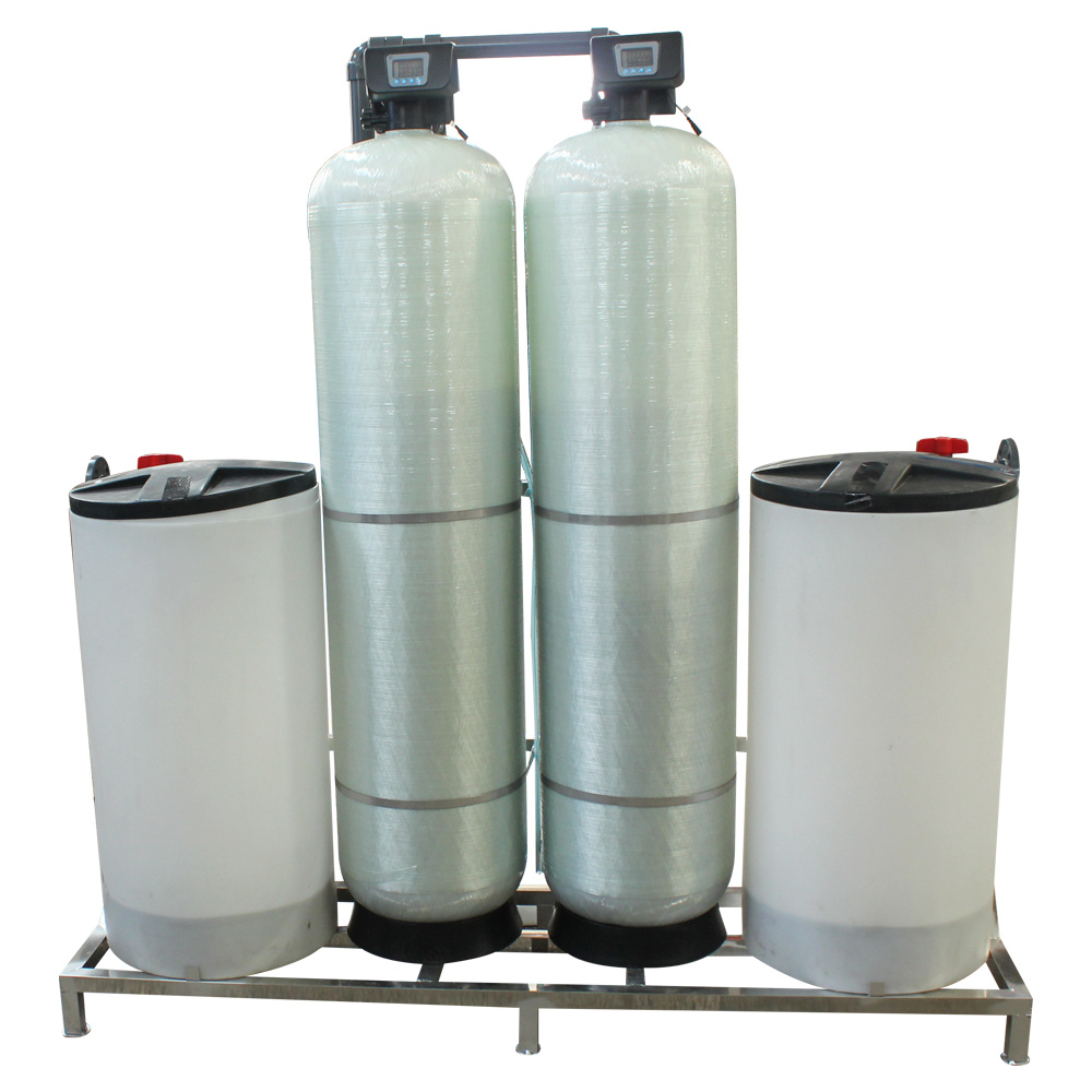 China Ion Exchange Resin Automatic Water Softener for Boiler Water ...