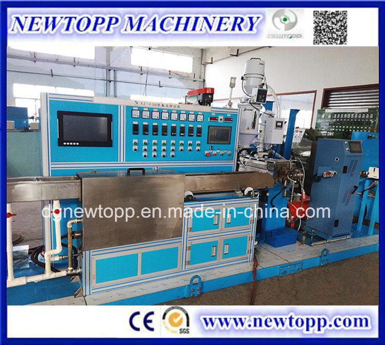 China FEP (F46) /PFA /ETFE (F40) Teflon Cable Extruder Machine ...