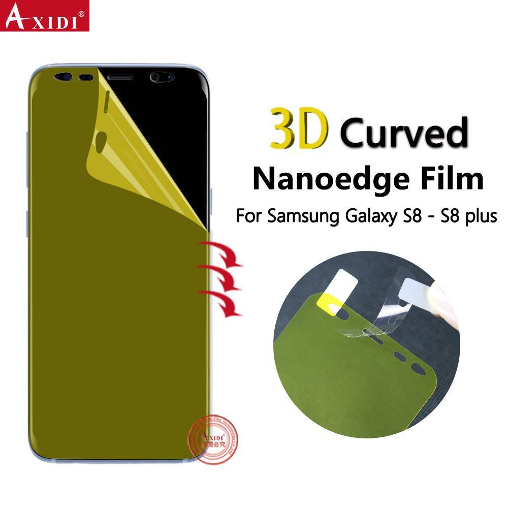 0c8d5491625e57 China Nano Edge Soft TPU Anti Shock Full Screen Cover Film Smooth Touching Screen  Protector for Samsung Galaxy S8/ S8 Plus/ S9 /S9 Plus - China Screen ...