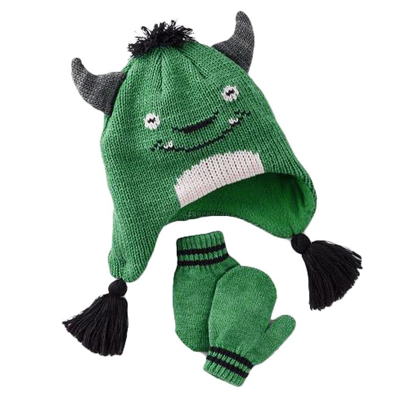 585f96449 [Hot Item] Children Cute Monster Animal Hat%Glove (JRAD161)