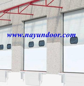 Ordinaire Automatic PU Sandwich Panel Motorized Overhead Sectional Garage Door